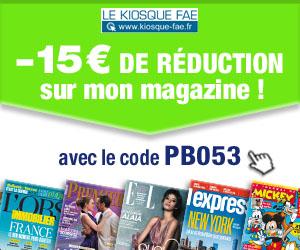 promotion du kiosque numérique en ligne