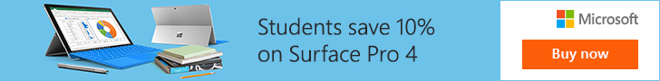 Surface Pro - Students save 10%