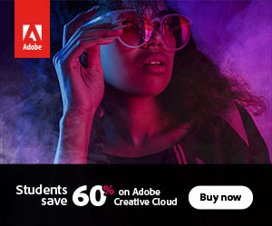 Student and Teachers, get 65% off Creative Cloud All Apps.