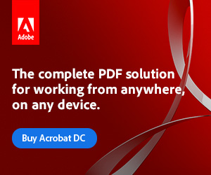 Adobe Acrobat DC - The complete PDF solution for working from anywhere, on any device