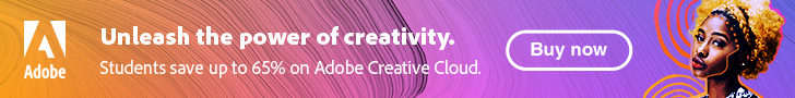 Adobe Creative Cloud All Apps Students and Teachers 65% Off