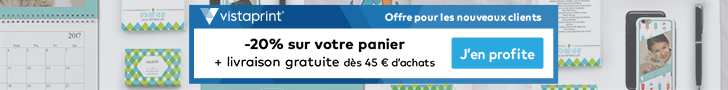 les promotions VistaPrint